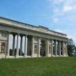 Colonnade Reistna on a hill above Valtice