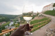 Znojmo: drink while sightseeing