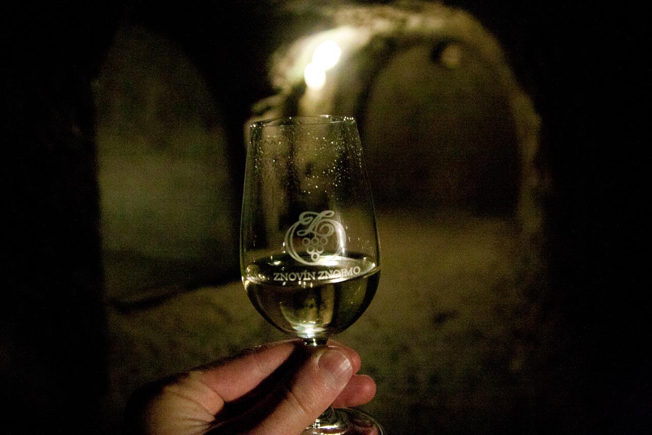 Taste wines from Znovín Znojmo in the labyrinths