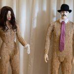 Cork mannequin